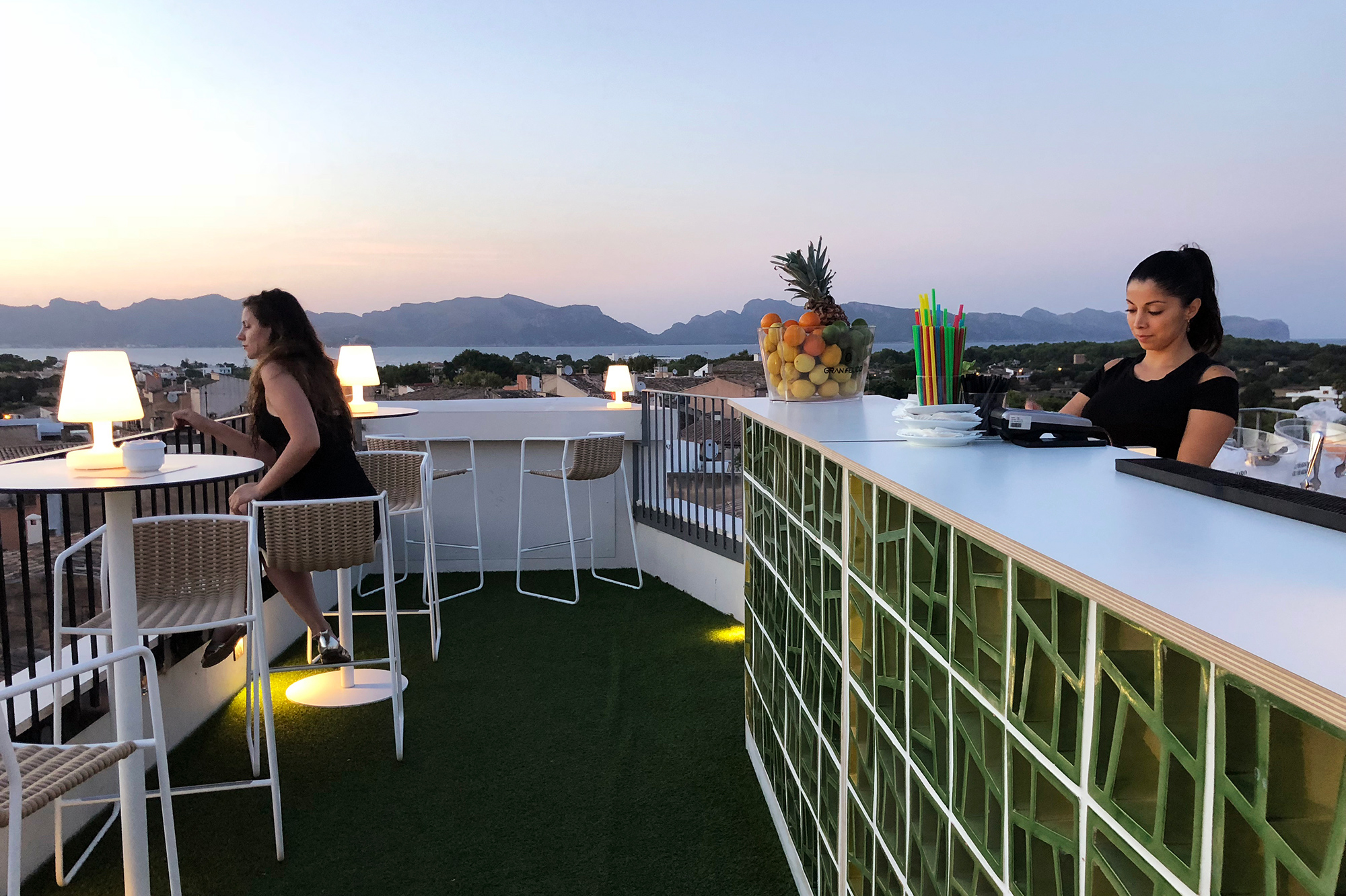 Roof top y terrazas Fonda Llabres Hotel Boutique